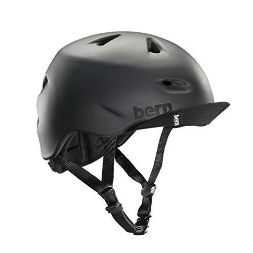 Bern Unlimited Brentwood Helmet w/ Flip Visor (Matte Black, Medium)