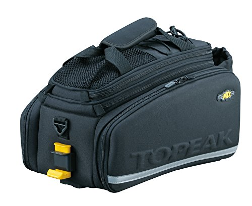 Topeak MTX Trunk Bag DXP Bicycle Trunk Bag with Rigid Molded Panels, 36x25x21.5-29cm , 1380ci
