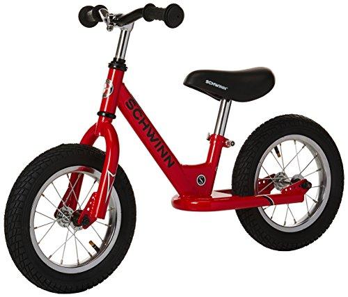 Schwinn Skip 1 Toddler Balance Bike, 12-Inch Wheels, Beginner Rider Training, Red