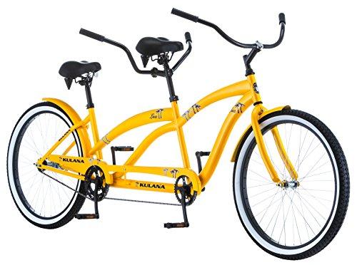 Kulana Lua Single Speed Tandem Cruiser Bike, 26-Inch Wheels, Model Number: R4708